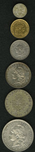 Argentina, Argentina: Confederation & Republic Type Selection,... (Total:6 coins)