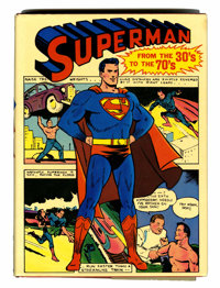 Superman From the '30s to the '70s (4th Printing, Bonanza Books, 1971)