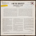 """Boxing Collectibles:Autographs, 1963 Muhammad Ali Signed """"I am the Greatest"""" Record Album...."""