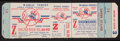 Baseball Collectibles:Tickets, Circa 1951 New York Yankees World Series Proof Ticket....