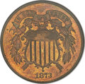 1873 2C Open 3 PR66 Red and Brown NGC....(PCGS# 3655)