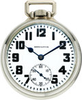 Timepieces:Pocket (post 1900), Hamilton 23 Jewel Grade 950, circa 1919. ...