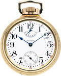 Timepieces:Pocket (post 1900), Waltham 23 Jewel Vanguard Wind Indicator, circa 1911. ...