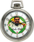 Timepieces:Pocket (post 1900), Westclox Babe Ruth Watch. ...