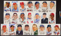 Baseball Collectibles:Others, Baseball Hall of Famers Signed Perez Steele Postcards Lot of 22....