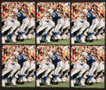 Football Collectibles:Photos, Johnny Unitas Signed Photographs Lot of 6....