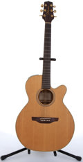 Musical Instruments:Acoustic Guitars, 2000's Takamine EG-45C Natural Electric Acoustic Guitar # N/A....