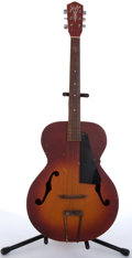 Musical Instruments:Acoustic Guitars, 1950's Silvertone by Harmony 694 Sunburst Archtop Acoustic Guitar#N/A....