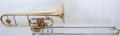 Musical Instruments:Horns & Wind Instruments, 1990s Holton TR395 Double Trombone #650063....