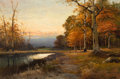 Fine Art - Painting, American:Contemporary   (1950 to present)  , ROBERT WILLIAM WOOD (American, 1889-1979). Catskill Evening.Oil on canvas. 24 x 36 inches (61.0 x 91.4 cm). Signed lowe...