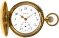 Timepieces:Pocket (post 1900), Swiss Gold Filled Quarter Hour Repeater, circa 1900. ...