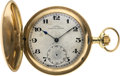 Timepieces:Pocket (post 1900), J. Assmann Gold Hunters Case, circa 1905. ...