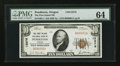 National Bank Notes:Oregon, Pendleton, OR - $10 1929 Ty. 1 The First Inland NB Ch. # 13576. ...