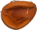 Baseball Collectibles:Others, Ivan Rodriguez Signed Catcher's Mitt....