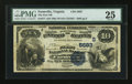 National Bank Notes:Virginia, Farmville, VA - $10 1882 Value Back Fr. 577 The First NB Ch. #(S)5683. ...