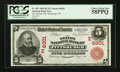National Bank Notes:Pennsylvania, Pittsburgh, PA - $5 1902 Red Seal Fr. 587 The Mellon NB Ch. #(E)6301. ...