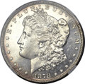 Morgan Dollars, 1878 8TF $1 MS63 Prooflike NGC. VAM-14.8....