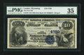 National Bank Notes:Wyoming, Lander, WY - $10 1882 Date Back Fr. 540 The First NB Ch. # (W)4720. ...