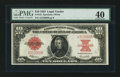 Large Size:Legal Tender Notes, Fr. 123 $10 1923 Legal Tender PMG Extremely Fine 40.. ...