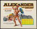 "Movie Posters:Drama, Alexander the Great Lot (United Artists, R-1960). Half Sheets (2) (22"" X 28""). Drama.. ... (Total: 2 Items)"