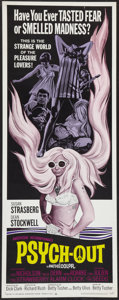 """Movie Posters:Exploitation, Psych-Out (American International, 1968). Insert (14"""" X 36""""). Exploitation.. ..."""