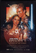 """Movie Posters:Science Fiction, Star Wars: Episode II - Attack of the Clones (20th Century Fox,2002). One Sheet (27"""" X 40"""") DS. Science Fiction.. ..."""
