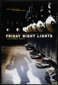 "Friday Night Lights (Universal, 2004). One Sheets (2) (27"" X 41"") DS Advance. Sports. ... (Total: 2 Items)"