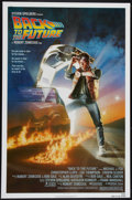 """Movie Posters:Science Fiction, Back to the Future (Universal, 1985). One Sheet (27"""" X 41""""). Science Fiction.. ..."""