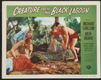 "Creature From the Black Lagoon (Universal International, 1954). Lobby Card (11"" X 14""). Horror"