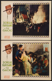 """The Gaucho (United Artists, 1927). Lobby Cards (2) (11"""" X 14""""). Adventure. ... (Total: 2 Items)"""
