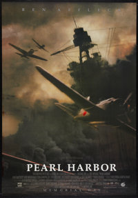 """Pearl Harbor Lot (Buena Vista, 2001). One Sheets (2) (26.75"""" X 38.5"""" and 27"""" x 40"""") SS Advance and D..."""