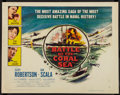 """Movie Posters:War, Battle of the Coral Sea (Columbia, 1959). Half Sheet (22"""" X 28"""")Style B. War.. ..."""