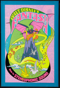 "Movie Posters:Animation, Fantasia (Buena Vista, R-1970). One Sheet (28"" X 41""). Animation....."