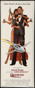 "Movie Posters:James Bond, Octopussy (MGM/UA, 1983). Insert (14"" X 36""). James Bond.. ..."