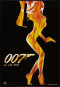 "Movie Posters:James Bond, The World is Not Enough (MGM, 1999). One Sheet (27"" X 41"") Advance.James Bond.. ..."