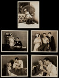 "Movie Posters:Romance, Richard Dix and June Collyer in ""The Love Doctor"" by Fred Hendrickson (Paramount, 1929). Photos (12) (8"" X 10""). Romance.. ... (Total: 12 Items)"