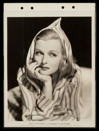 "Joan Bennett (Paramount, 1930s). Keybook Photos (8) (5"" X 8"" and 8"" X 11""). Miscellaneous. ... (Tota..."