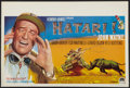 "Movie Posters:Adventure, Hatari! (Paramount, 1962). Belgian (14.25"" X 21.25""). Adventure....."