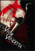 """Movie Posters:Action, V for Vendetta Lot (Warner Brothers, 2005). One Sheets (2) (27"""" X 41"""") DS Advance. Action.. ... (Total: 2 Items)"""