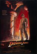 "Movie Posters:Adventure, Indiana Jones and the Temple of Doom (Paramount, 1984). One Sheet (27"" X 40""). Adventure.. ..."