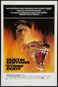 "Straw Dogs (Cinerama Releasing, 1972). One Sheet (27"" X 41"") Style D. Crime"