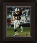 Football Collectibles:Photos, Jerry Rice Signed Photograph....