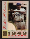 """Baseball Cards:Singles (1970-Now), 2003 Topps Tribute """"First All-Star"""" Jackie Robinson Game-Used BatCard. ..."""