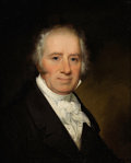 Fine Art - Painting, American:Antique  (Pre 1900), Attributed to HENRY INMAN (American, 1801-1846). Portrait of theArtist's Father, Circa 1840. Oil on canvas. 22 x 18 inc...