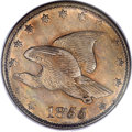 Patterns, 1855 E1C Flying Eagle Cent, Judd-170a, Pollock-196, Low R.7, PR61PCGS....