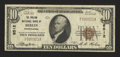 National Bank Notes:Pennsylvania, Berlin, PA - $10 1929 Ty. 1 The Philson NB Ch. # 6512. ...
