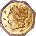 California Fractional Gold, 1871 25C Liberty Octagonal 25 Cents, BG-720, R.7, MS66 NGC....