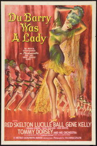 """Du Barry Was a Lady (MGM, 1943). One Sheet (27"""" X 41"""") Style D. Comedy"""