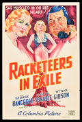 "Movie Posters:Crime, Racketeers in Exile (Columbia, 1937). One Sheet (27"" X 41"") StyleB. Crime.. ..."