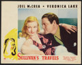 "Movie Posters:Comedy, Sullivan's Travels (Paramount, 1941). Lobby Card (11"" X 14"").Comedy.. ..."